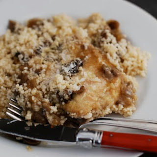 Chicken Marsala with Parmesan