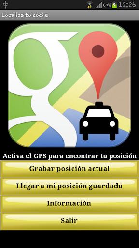 Localiza tu coche Gratis