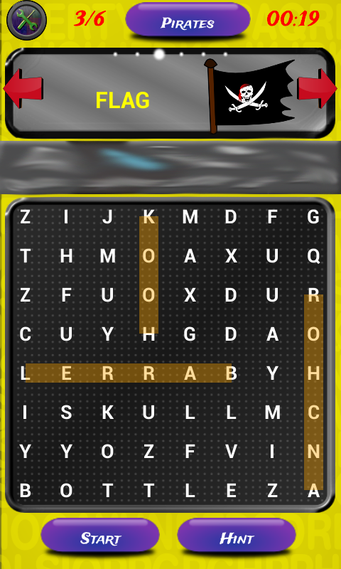 1st Grade Word Search FREE- screenshot