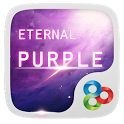 Eternal Purple GO Theme icon