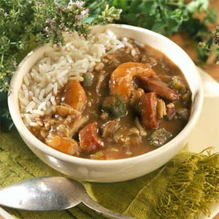 Low-fat Shellfish Gumbo.