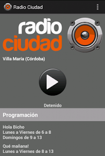 Radio Ciudad - Villa Maria- screenshot thumbnail