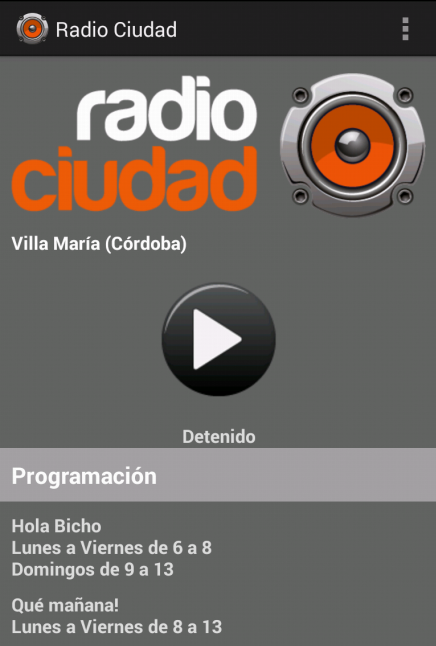 Radio Ciudad - Villa Maria- screenshot