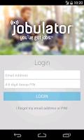 Screenshot of Jobulator Mobile