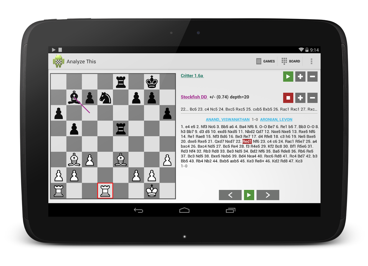 Chess - Analyze This (Free)- screenshot