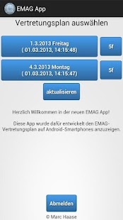 EMAG App (IServ)- screenshot thumbnail