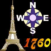 Offline GPS Paris 1760
