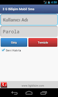 Screenshot of 3G TOPLU SMS