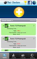 Screenshot of Thai Checkers
