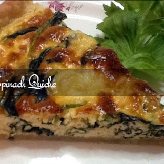 Spinach Quiche Easy Recipe.