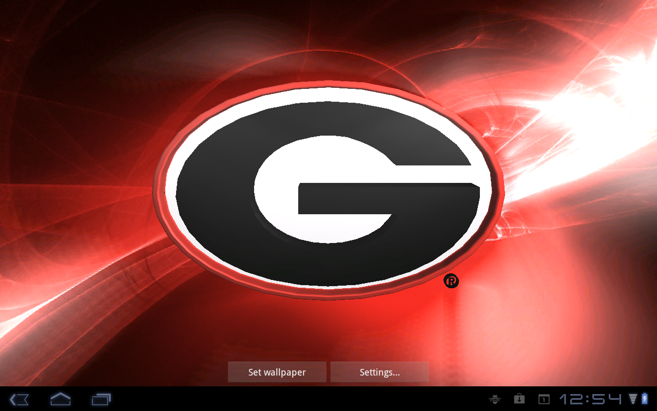 Georgia Bulldogs Pix & Tone - screenshot