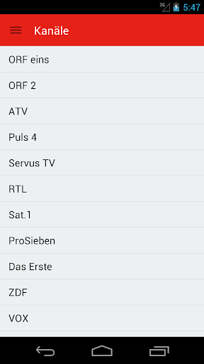 Austrian Television Guide Free