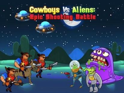 Cowboys Aliens Shootout Battle