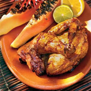 Grilled Sweet Guava Chicken.