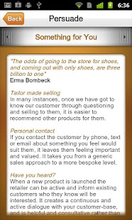 iSell: Your retail sales guide - screenshot thumbnail