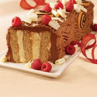 """Festive Yule Log """"Cake"""""""