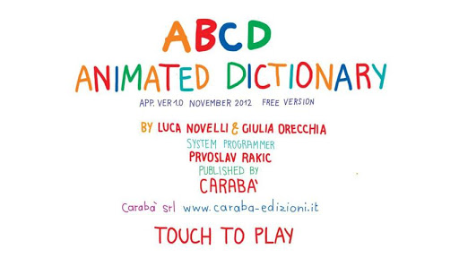 ABCD... Animated Dictionary
