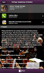 DuPage Symphony Orchestra - screenshot thumbnail
