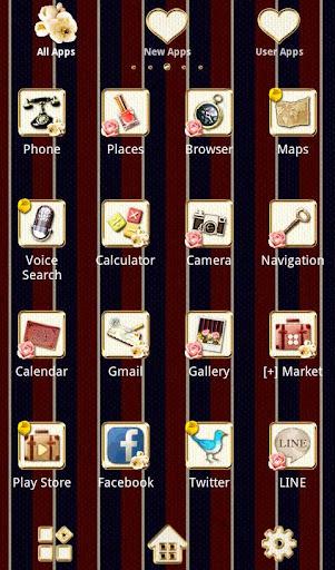 Girly Theme Regimental Roses 1.0.1 Windows u7528 2