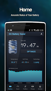 DU Battery Saver PRO & Widgets Screenshot