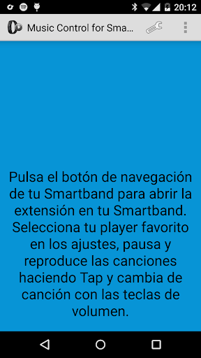Music Control SmartBand Talk  screenshots 3