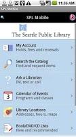 Screenshot of SPL Mobile