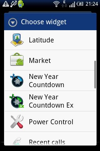 New Year Countdown Widget Lite - screenshot