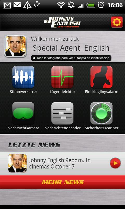 Johnny English Spy Kit (DE)- screenshot