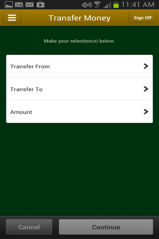 1st Community Bank Mobile - screenshot