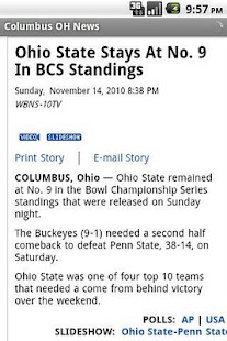 Columbus OH News- screenshot thumbnail
