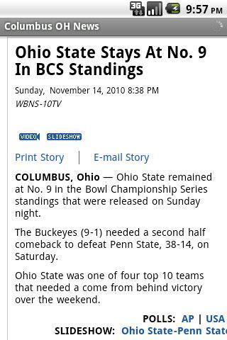 Columbus OH News- screenshot