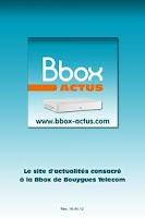 Screenshot of Bbox Actus