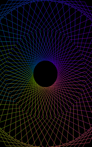 Hypnotic Pulsator Pro - Visualizer & Wallpaper  screenshots 1