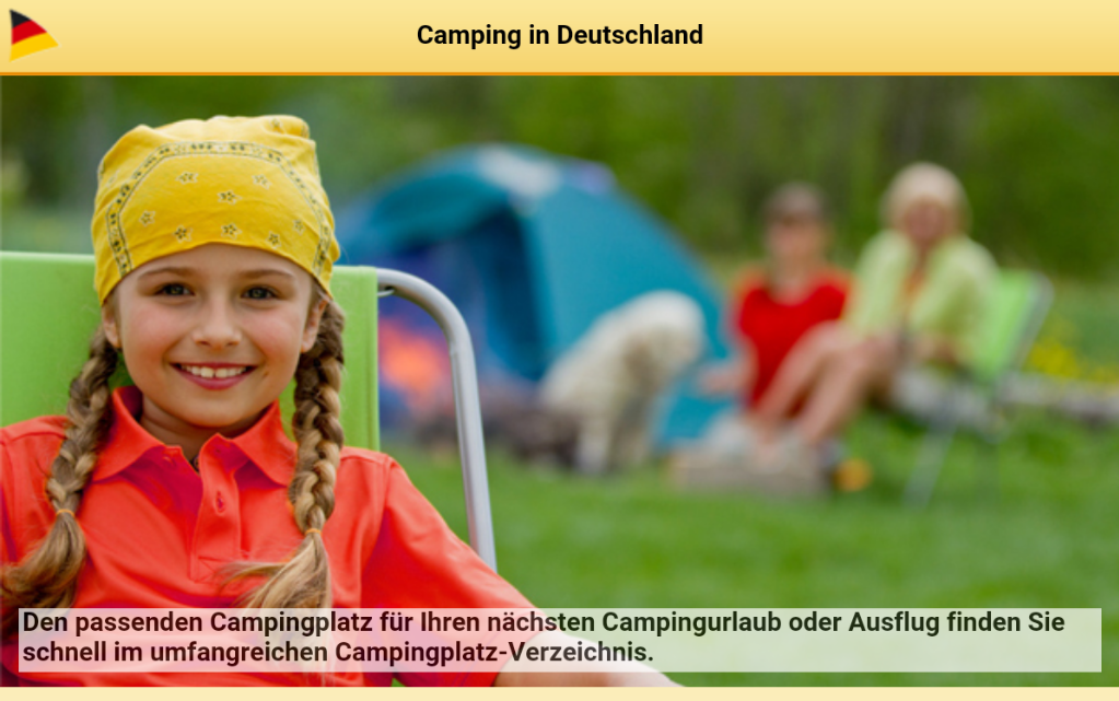 Camping-in-Deutschland- screenshot