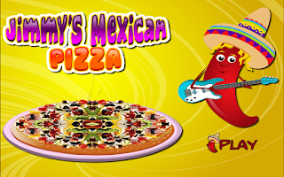 Screenshot of Cooking Mexican Pizza