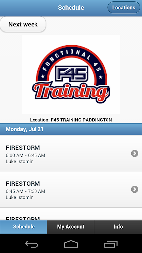 F45 Training Paddington