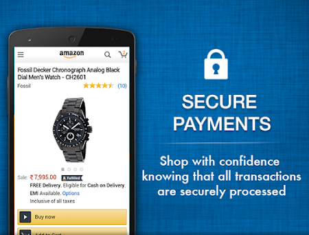 Amazon India Shopping 6.1.4.300 screenshot 249710