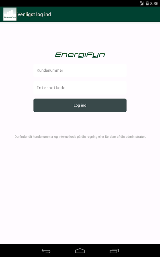 Energi Fyn - screenshot