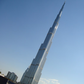 Tallest building in th World, Burj Khalifa by Shelina Khimji - Buildings & Architecture Public & Historical ( building, dubai, burj khalifa, tallest,  )