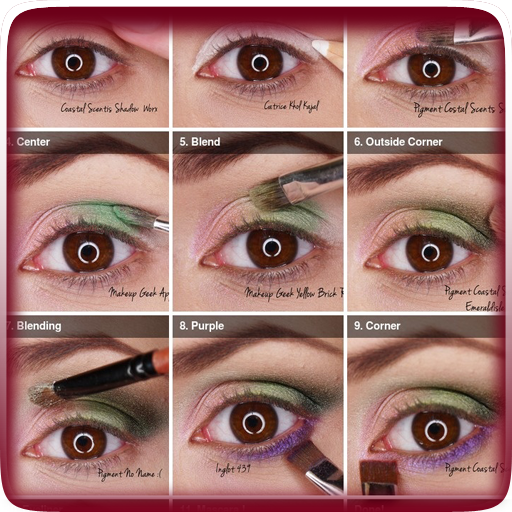 Step By Step Eye Makeup Guide 生活 App LOGO-APP開箱王