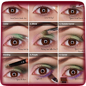 Step By Step Eye Makeup Guide