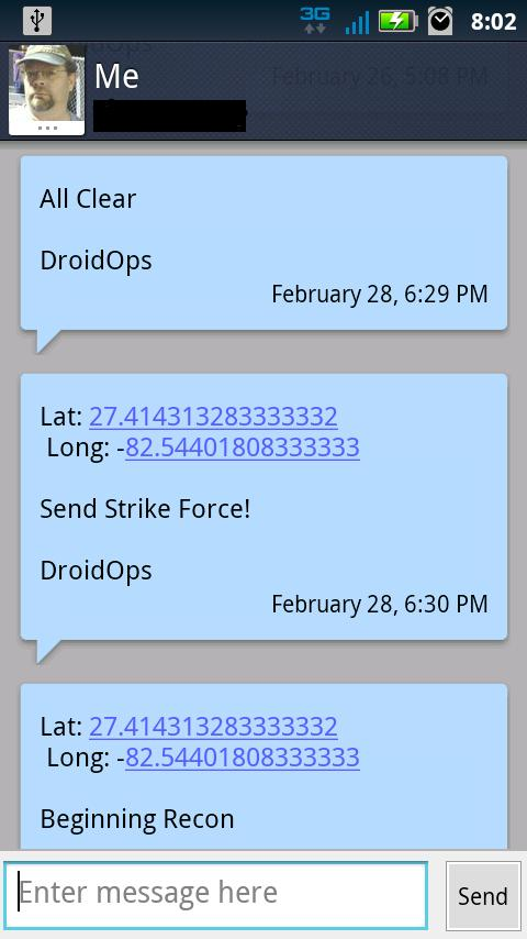 LAS Droid Ops- screenshot