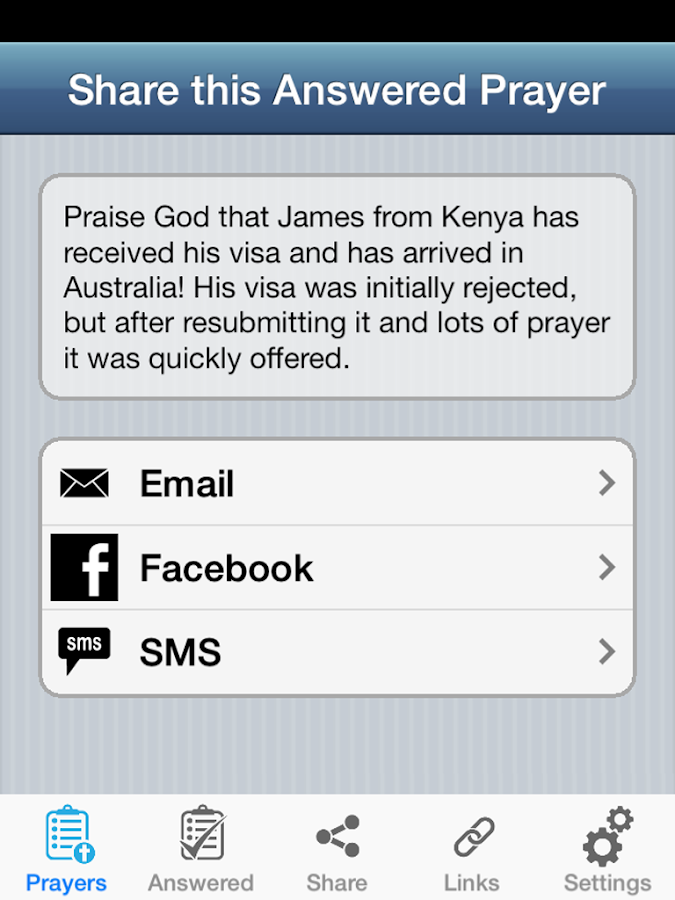Mission Prayers- screenshot
