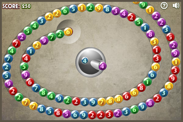 Bubble Math Shooter- screenshot