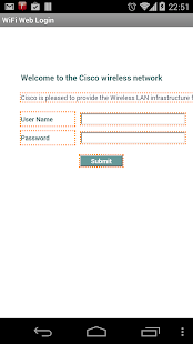 WiFi Web Login - screenshot thumbnail