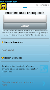 Next Bus New York - screenshot thumbnail