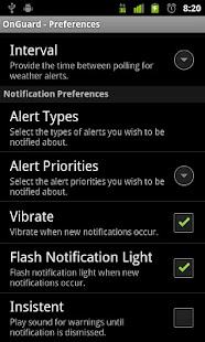 Onguard Weather Alerts - screenshot thumbnail