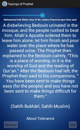 【免費書籍App】Sayings Of Prophet-APP點子