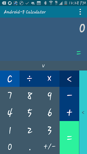 Android-F Flat Calculator