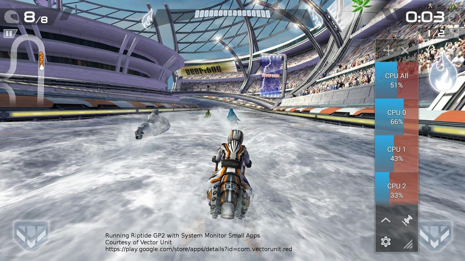 System Monitor Small App - screenshot